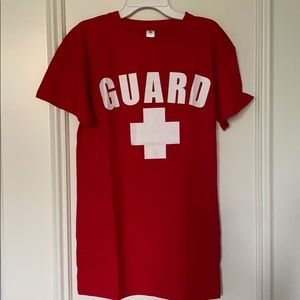 Other - Lifeguard tshirt adult unisex small